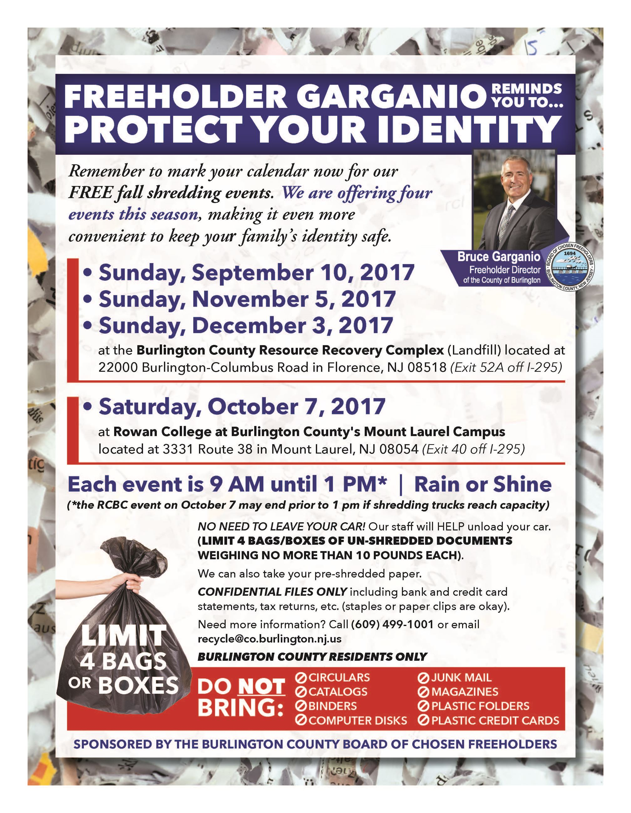 2017 Fall Shred Event